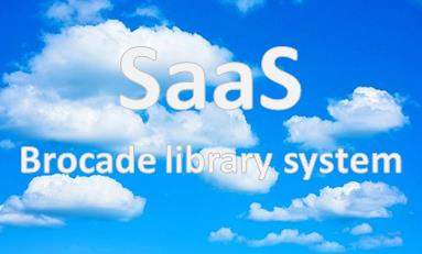 SaaS Brocade library system